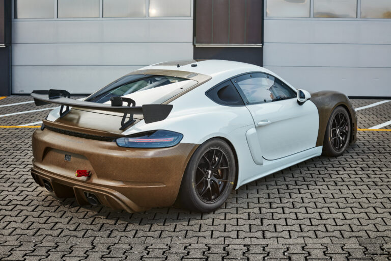 rear bumper in natural fibres with powerRibs™